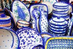 Dishes Set stock photo