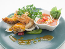 Dishes of Thailand and China international cuisine Stock Image