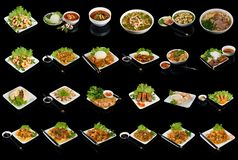 Dishes of vietnamese cuisine Stock Images