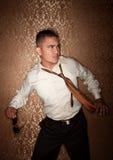 Disheveled Hispanic Man Royalty Free Stock Photos