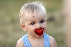 Free Dishevelled Blond Baby Stock Images - 15275574