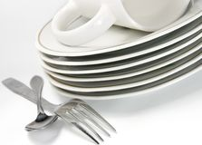 Dishware Stock Photo