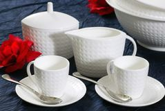 Dishware Stockfotos