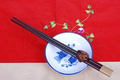 Dishware chinois Photographie stock libre de droits