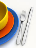 Dishware Royalty Free Stock Images