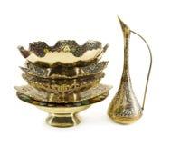 Dishware indiano imagem de stock royalty free