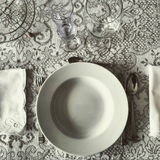 Dishware ready Royalty Free Stock Images