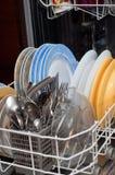 dishwash Obraz Stock