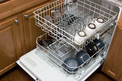 The Dishwasher royalty free stock images