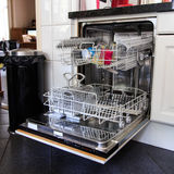 dishwasher Foto de Stock Royalty Free