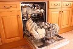 dishwasher fotografia stock