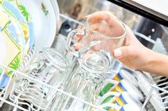 Dishwasher. Royalty Free Stock Image