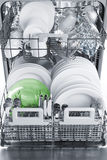 Dishwasher after cleaning process Royalty Free Stock Photo