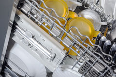 Dishwasher detail Stock Image