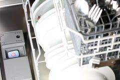 Dishwasher detergent tablet Stock Image