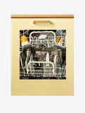 Dishwasher with glass Royalty Free Stock Image