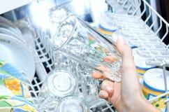 Dishwasher. Stock Photos
