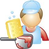 Dishwasher Icon Royalty Free Stock Photography