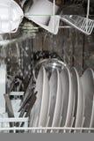 dishwasher inside working Στοκ φωτογραφία με δικαίωμα ελεύθερης χρήσης