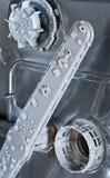 Dishwasher interior Stock Images
