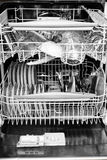 Dishwasher interior Stock Photography