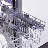 Dishwasher and kitchen equipment Stock Photo