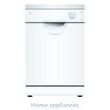 Dishwasher machine Royalty Free Stock Images