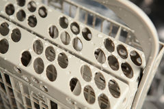 Dishwasher's Utensil Basket Stock Photos