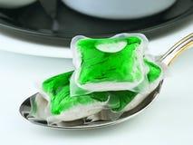 Dishwasher soap Stock Photo