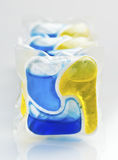Dishwasher soap Stock Images