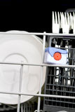 Dishwasher tab Royalty Free Stock Image