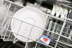 Dishwasher tab Stock Photo