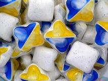 Dishwasher tablets Royalty Free Stock Image