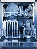 Dishwasher. On the white background. Isolated on white Stock Images