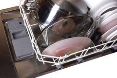Dishwasher With Dishes Royalty Free Stock Photo