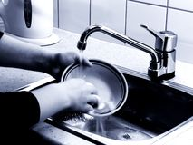 Dishwashing Stock Images