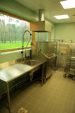 Dishwashing area Royalty Free Stock Photography