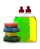 Dishwashing Detergent Royalty Free Stock Photography