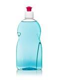 Dishwashing liquid. On white background royalty free stock photos