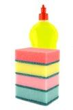 Dishwashing liquid. Royalty Free Stock Image