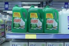 Dishwashing liquid Royalty Free Stock Images