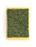 Dishwashing sponge Royalty Free Stock Photos