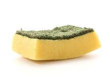 Dishwashing sponge Stock Photography