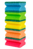 Dishwashing sponges Royalty Free Stock Photo