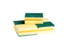 Dishwashing sponges Stock Image