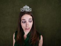 Disinterested Homecoming Queen Stock Photos