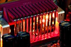 Disipador de calor Imágenes de archivo libres de regalías