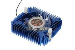 Disipador de calor de aluminio Fotografía de archivo