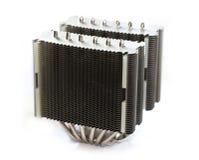 Disipador de calor de gama alta de la CPU Fotos de archivo