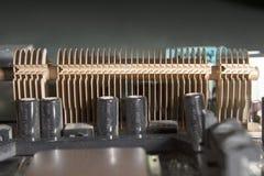 Disipador de calor de la fase del poder de la CPU Fotografía de archivo libre de regalías